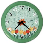 Tulip Clock - Color Wall Clock