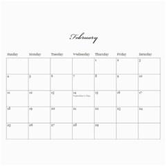 Flowers 2015 Calendar By Mikki   Wall Calendar 11  X 8 5  (12 Months)   Mbkh3s847nzv   Www Artscow Com Feb 2019