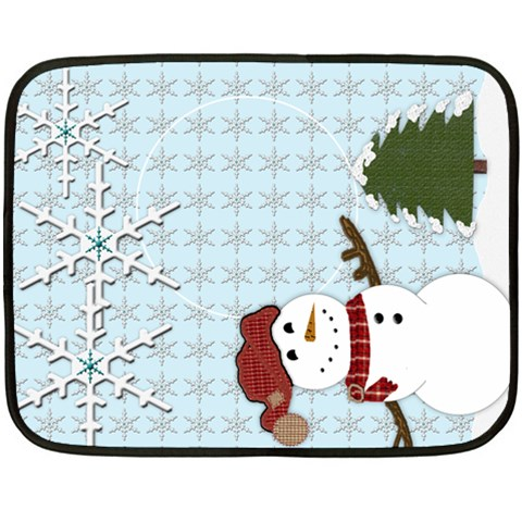 Holiday Gift Fleece Blanket By Danielle Christiansen   Fleece Blanket (mini)   Ok87h0v4qo88   Www Artscow Com 35 x27 Blanket