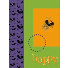 Halloween Invitation W/ Photo By Mikki   Greeting Card 4 5  X 6    8960u1t4tkni   Www Artscow Com Front Inside