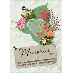 Memories Card By Lil    Greeting Card 5  X 7    1astx0zkk1uo   Www Artscow Com Front Cover