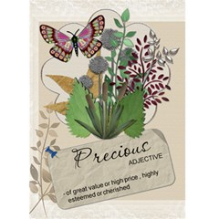 Precious Card By Lil    Greeting Card 5  X 7    Ywwvvhk2ni3t   Www Artscow Com Front Cover