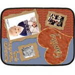 fleece blanket family template - Mini Fleece Blanket