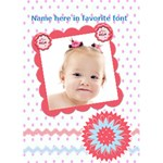my little cutie birthday or every day card - Greeting Card 5  x 7