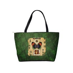Butterfly   Bag By Carmensita   Classic Shoulder Handbag   5d5spa9ozivz   Www Artscow Com Back