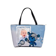 It s A Boy   Bag By Carmensita   Classic Shoulder Handbag   Uop3n9g6unp6   Www Artscow Com Front