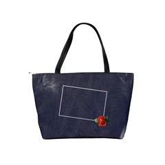 Flower Bag By Jorge   Classic Shoulder Handbag   Yfz4wz80pmq5   Www Artscow Com Back