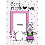 Easter time - Custom Greeting Card 5  x 7