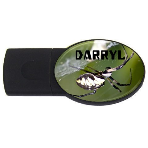Darryl Flash By Erinn   Usb Flash Drive Oval (2 Gb)   Yi2bnuqqf6ud   Www Artscow Com Front