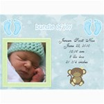 jensens birth annoucements - 5  x 7  Photo Cards