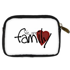 Family Camera Case By Amanda Bunn   Digital Camera Leather Case   Vtrhc0sjdknn   Www Artscow Com Back