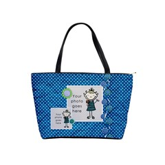 Bluedots By Albums To Remember   Classic Shoulder Handbag   Sfjxwdj90drq   Www Artscow Com Front