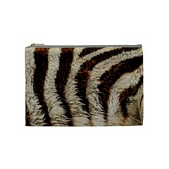 Zebra Cosmetic Bag By Maryka De Vries   Cosmetic Bag (medium)   Awmcfokk3mys   Www Artscow Com Front