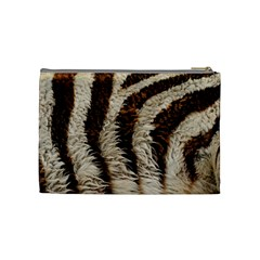 Zebra Cosmetic Bag By Maryka De Vries   Cosmetic Bag (medium)   Awmcfokk3mys   Www Artscow Com Back