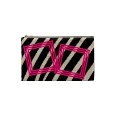 Zebra   Custom Cosmetic Bag By Carmensita   Cosmetic Bag (small)   Sedi1qp6pfgk   Www Artscow Com Front