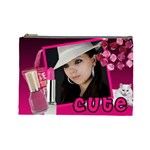 Cute girl - Custom Cosmetic Bag - Cosmetic Bag (Large)