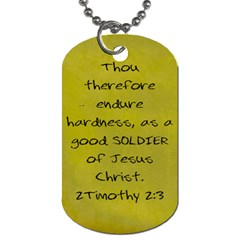 Parker Dog Tag By Beth Bryson   Dog Tag (two Sides)   I2jmh9iil8rh   Www Artscow Com Back
