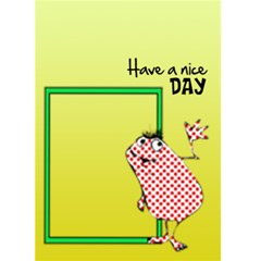 Have A Nice Day     Custom Greeting Card 5  X 7  By Carmensita   Greeting Card 5  X 7    4lmrfikn2xha   Www Artscow Com Front Cover