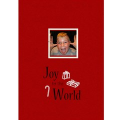 Jorge Christmas 5x7 Greeting Card By Laura Mueller   Greeting Card 5  X 7    Fxui77mnpx1o   Www Artscow Com Back Cover