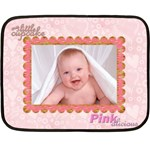 100% love baby girl mini fleece - Mini Fleece Blanket