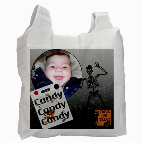 Halloween Bag By Lil    Recycle Bag (one Side)   Ab61x4wpwzje   Www Artscow Com Front