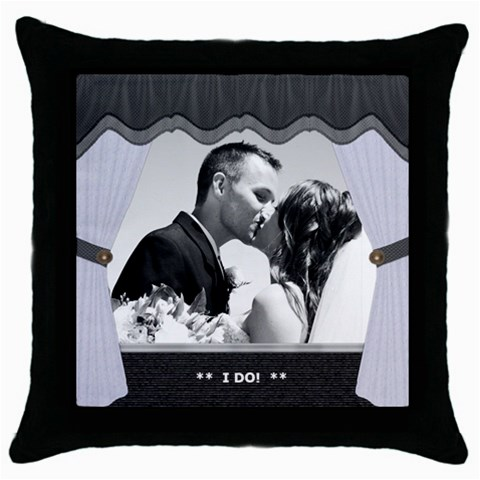 Wedding Pillow by Lil Front