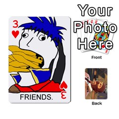 Gentlemen By Gentle Men   Playing Cards 54 Designs (rectangle)   Fe1chysvwhzy   Www Artscow Com Front - Heart3