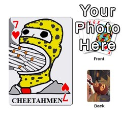 Gentlemen By Gentle Men   Playing Cards 54 Designs (rectangle)   Fe1chysvwhzy   Www Artscow Com Front - Heart7