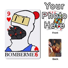 Gentlemen By Gentle Men   Playing Cards 54 Designs (rectangle)   Fe1chysvwhzy   Www Artscow Com Front - Heart9