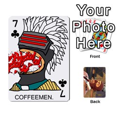 Gentlemen By Gentle Men   Playing Cards 54 Designs (rectangle)   Fe1chysvwhzy   Www Artscow Com Front - Club7