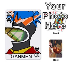 Gentlemen By Gentle Men   Playing Cards 54 Designs (rectangle)   Fe1chysvwhzy   Www Artscow Com Front - Club10