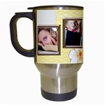 Happy Birthday Mug - Travel Mug (White)