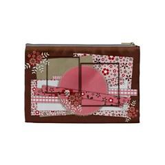 Cosmetics Bag Medium Pretty Little Girl By Angel   Cosmetic Bag (medium)   L6fjxu7096gy   Www Artscow Com Back