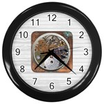 In side time - Wall Clock (Black)