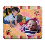 Spring Mousepad with 2 photo spots - Large Mousepad
