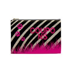 Zebra Coupon Med  Cosmo Bag By Mary   Cosmetic Bag (medium)   559yp9j1x42f   Www Artscow Com Front