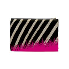 Zebra Coupon Med  Cosmo Bag By Mary   Cosmetic Bag (medium)   559yp9j1x42f   Www Artscow Com Back