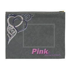 What A Sweetheart Cosmetic Bag 3 Yummy Scrummy By Catvinnat   Cosmetic Bag (xl)   T8eibfdi99su   Www Artscow Com Back