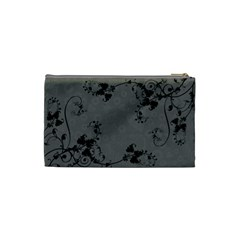 Bridal Cosmetic Bag Almost Black By Catvinnat   Cosmetic Bag (small)   Ogqg18n6n6x3   Www Artscow Com Back