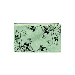 Bridal Cosmetic Bag Green By Catvinnat   Cosmetic Bag (small)   9no0dzmue4c9   Www Artscow Com Back