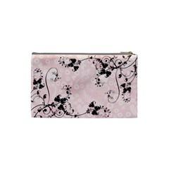 Bridal Cosmetic Bag Pink By Catvinnat   Cosmetic Bag (small)   M41q4vnr3t4s   Www Artscow Com Back