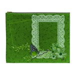 Green Butterfly - Cosmetic Bag (XL)