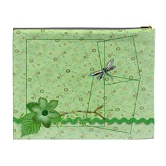 Green Butterfly By Mikki   Cosmetic Bag (xl)   Fbikhchbe0hg   Www Artscow Com Back
