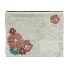 Floral By Mikki   Cosmetic Bag (xl)   U3x6funuvt5o   Www Artscow Com Front