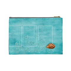 Beach By Mikki   Cosmetic Bag (large)   Y6wxcb45nm3c   Www Artscow Com Back