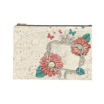 Floral - Cosmetic Bag (Large)