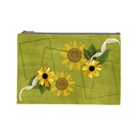 Daises - Cosmetic Bag (Large)