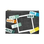 Text Messages - Cosmetic Bag (Large)