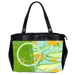 Butterfly, Sunshine - Oversize Office Handbag (Two Sides)