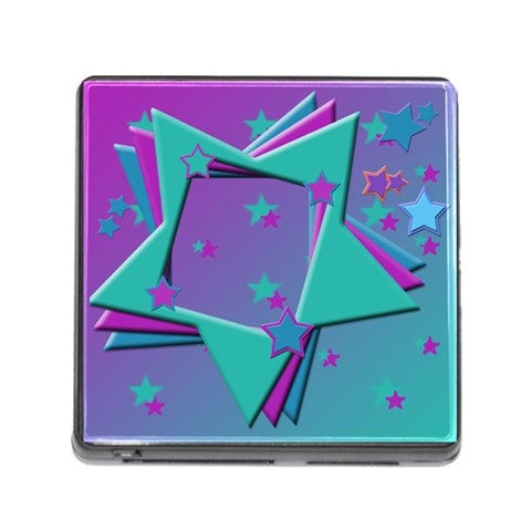 Stars2 By Add In Goodness And Kindness   Memory Card Reader (square 5 Slot)   3jutpn2234wn   Www Artscow Com Front